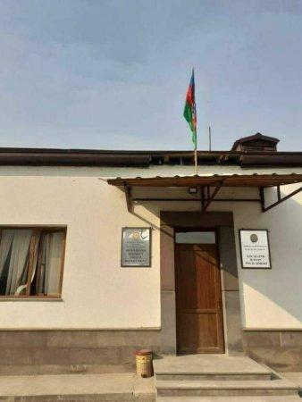 Xocavənd Rayon Polis Şöbəsinin inzibati binası - FOTO
